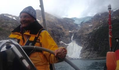 Oeding am Jökelfjord-Gletscher